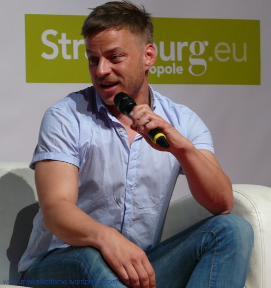 Tom Wlaschiha @ Digital Game Show Strasbourg 08.05.2016 (2)