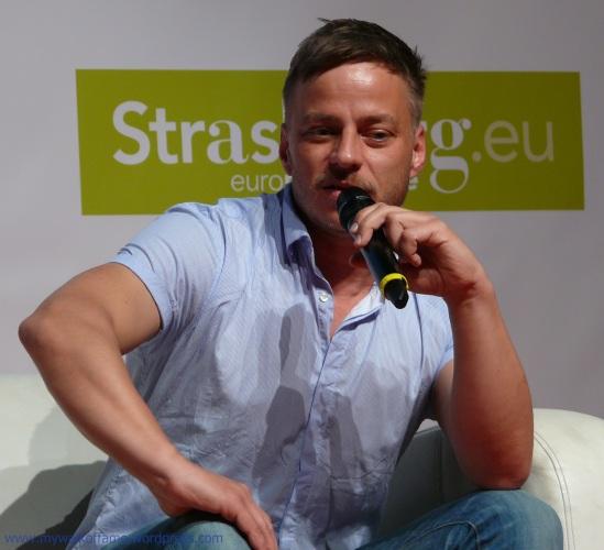 Tom Wlaschiha @ Digital Game Show Strasbourg 08.05.2016 (4)